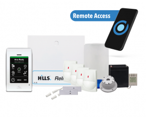 Hills Reliance Alarm package Perth with remote access and perimeter system