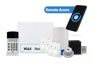 Premium Hills Reliance Alarm Package with App